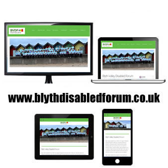 Blyth Valley Disabled Forum Website