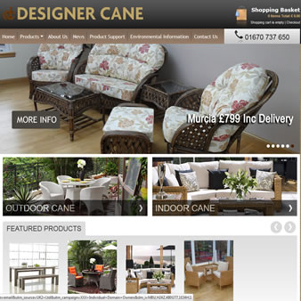 Designer Cane Website