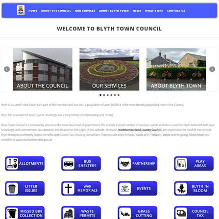 Blyth Town Council website